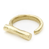 Odette talus brass ring at maeree