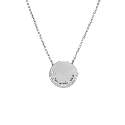 article 22 love is the bomb diamond necklace at maeree