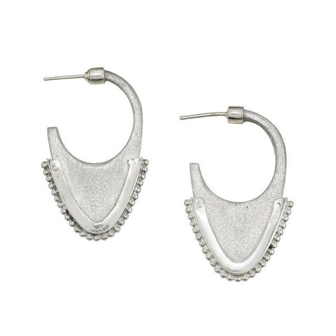 article 22 laos tribal dome earrings at maeree