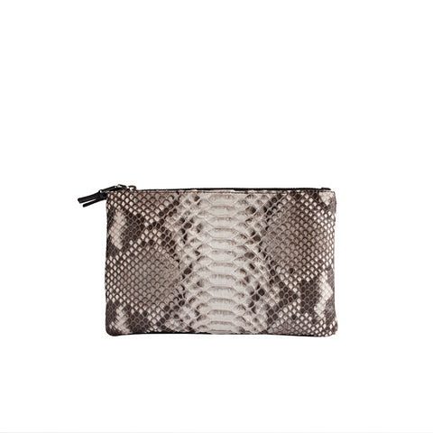 python pochette clutch from avgvs at maeree
