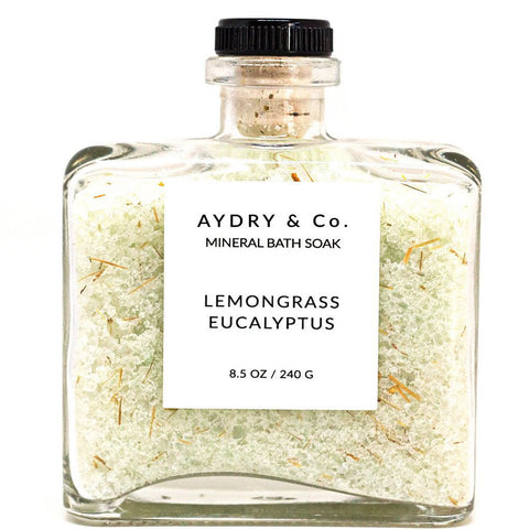 AYDRY lemongrass eucalyptus bath soak at maeree