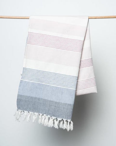 bloom and give adana striped beach blanket at maeree