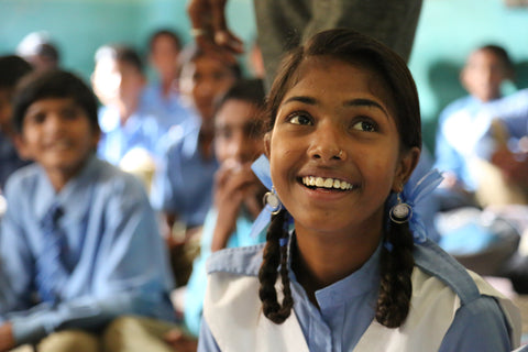 bloom & give girls education