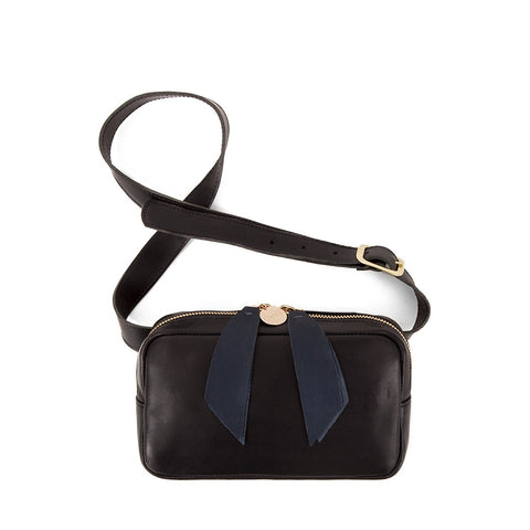 clare v black belt bag at maeree