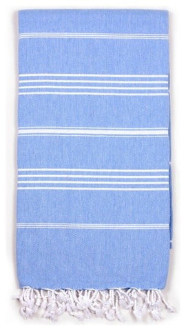 blue ibiza turkish towel from bohemia at maeree
