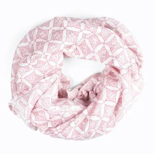 hand block print scarf in plum from bohemia at maeree