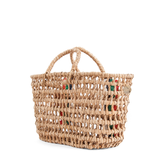 clare v basket weave bruno tote at maeree