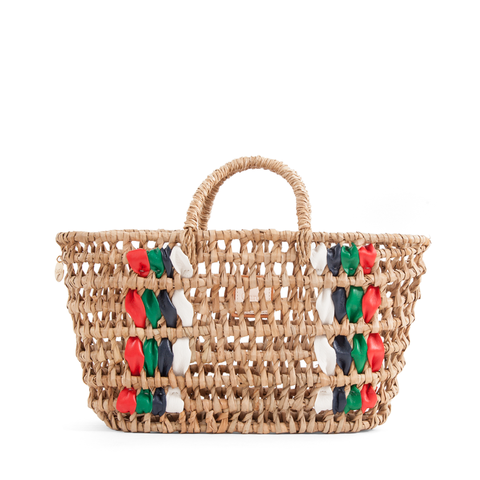 clare v open weave bruno tote at maeree