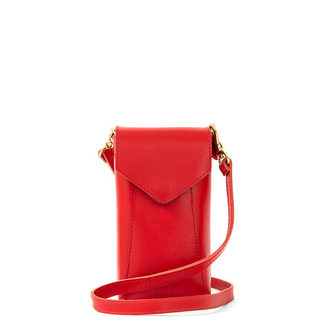 clare v cherry camille phone crossbody at maeree
