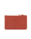 clare v poppy reptile flat clutch at maeree