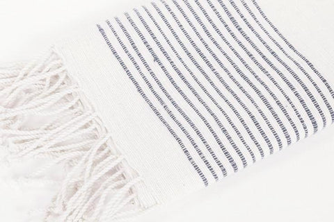 creative women navy ribbed hand towel at maeree