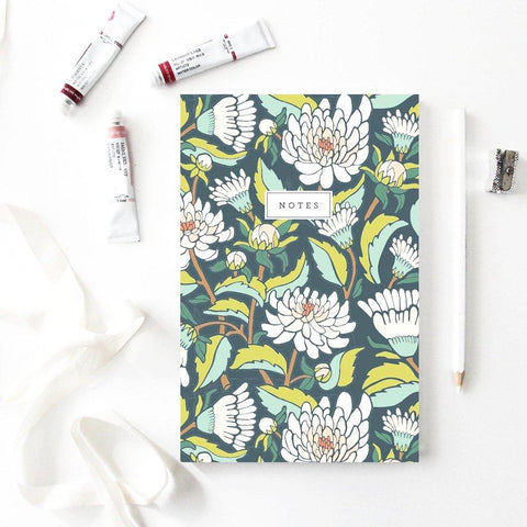 Root & Branch dahlia garden notebook at maeree