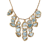 Emilie Shapiro Aquamarine Seafaring Cascade Necklace at maeree