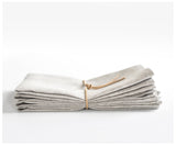 oatmeal linen napkins from celina mancurti at maeree