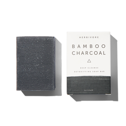 herbivore bamboo charcoal soap at maeree