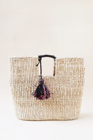 Indego Africa Gus banana leaf basket bag at maeree