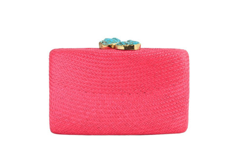 kayu jen clutch at maeree pink