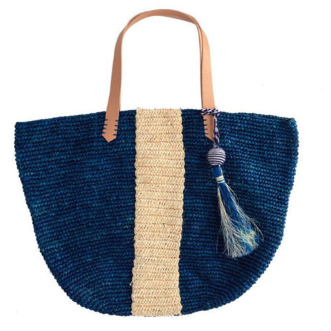 kayu blue pipeline beach tote at maeree