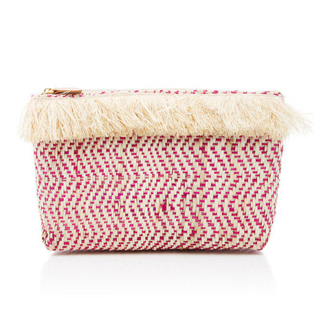 kayu tia clutch in pink at maeree