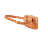 clare v e belt bag rustic natural