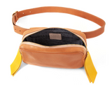 clare v le belt bag rustic natural