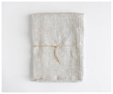 oatmeal linen tablecloth from celina mancurti at maeree