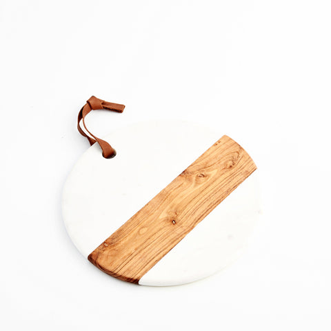be-home marble and acacia cheese board at maeree