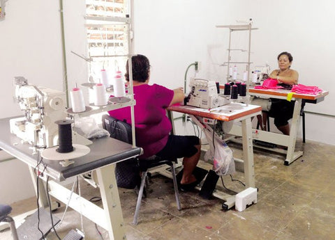 QSC sewing room