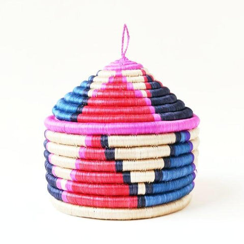 indego africa mini lidded basket at maeree