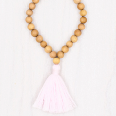 blush meditation mala bracelet maeree