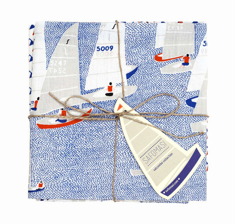 safomasi regatta tea towels at maeree