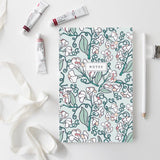 Root & Branch Sweet Pea notebook at maeree