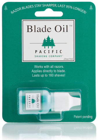 Pacific Shaving olie til barberblade
