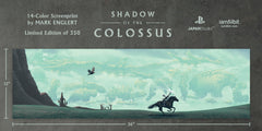Shadow of the Colossus Screenprint by Mark Englert