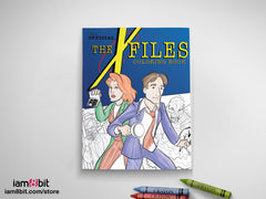 The X-Files Coloring Book