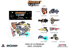 Weapons Sticker Pack (Ratchet & Clank)