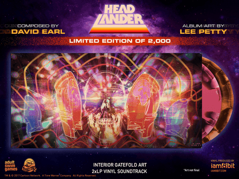 Headlander Vinyl Soundtrack 2xLP