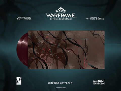 Warframe Vinyl Soundtrack 2xLP