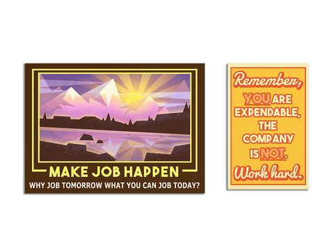 Job Simulator Poster Set