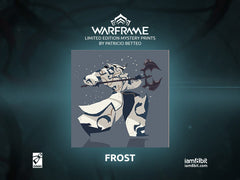 Warframe Limited Edition Prints