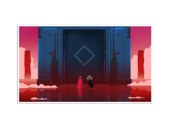 Towers Gicl̩e Print (Hyper Light Drifter)