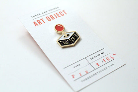 Limited Edition Joystick Pin by These are Things
