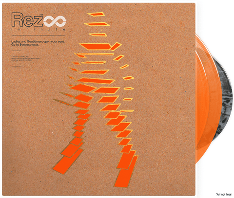 "Rez Infinite - Vinyl Soundtrack 2xLP + Retrospective Book + 7"" Bonus Vinyl"