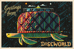 Discworld by Andrew Kolb (postcard)