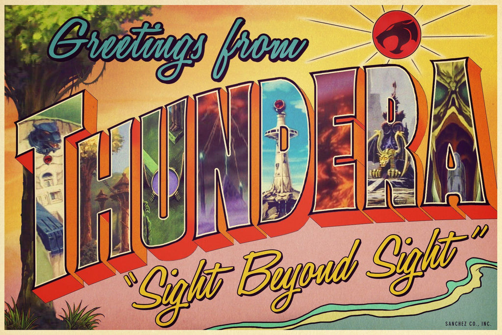 Thundera by Chris Sanchez (postcard)
