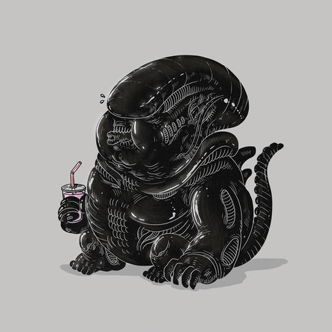 The Famous Chunkies: Alien by Alex Solis