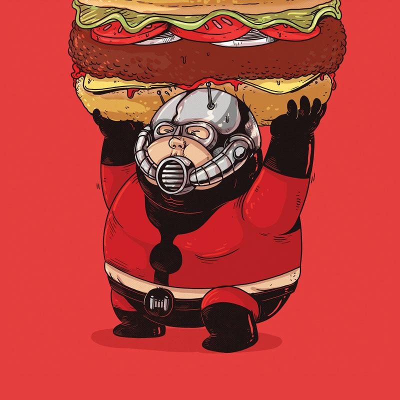 The Famous Chunkies: Ant-Man by Alex Solis