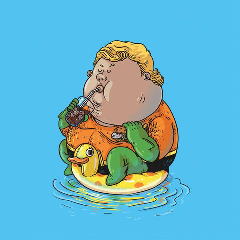 The Famous Chunkies:  Aquaman by Alex Solis