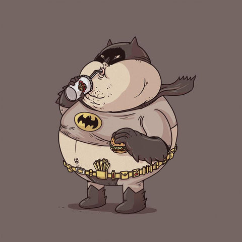 The Famous Chunkies:  Batman by Alex Solis