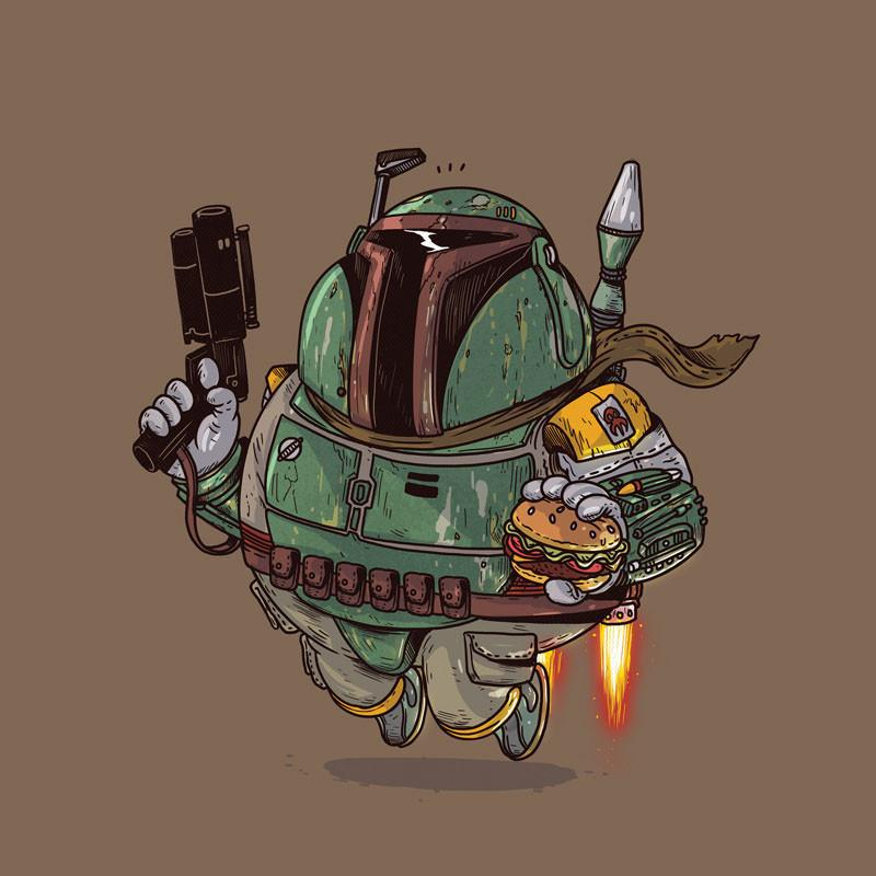 The Famous Chunkies: Boba Fett by Alex Solis